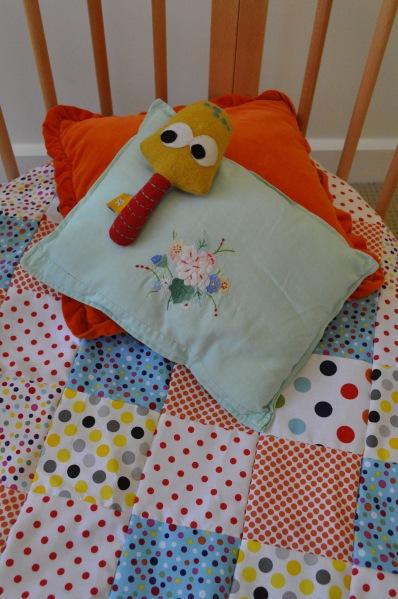 DIY Spot Quilt Toadstool Mushroom Cushion Beci Orpin Design