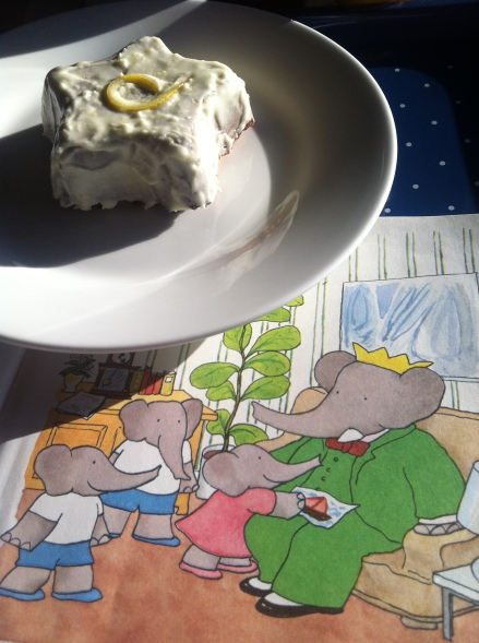 Fathers Day Dad Babar Cake Star