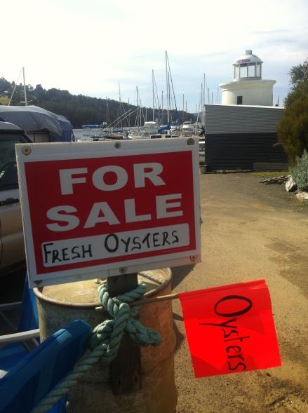 Fathers Day Oysters Bruny Island Ferry Terminal Tasmania