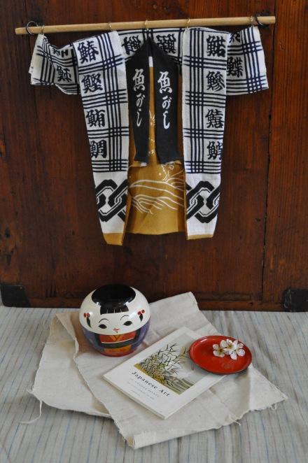 Japan Kimono Kokeshi Ikebana
