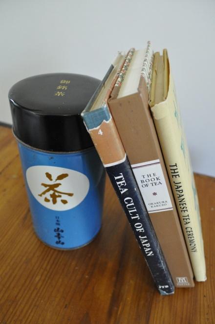 Japan Tea Cult Japanese Tea Vintage Box Caddy Tin