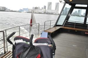 Kids Japan Tokyo Water Cruise Suijobus Asakusa Boat Ferry Odaiba