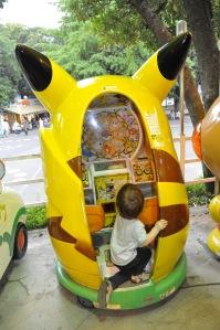 Kids Japan Ueno Amusement Park Tokyo Pikachu