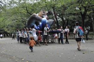 Kids Japan Ueno Park Tokyo Festival Parade Float Toddler Child