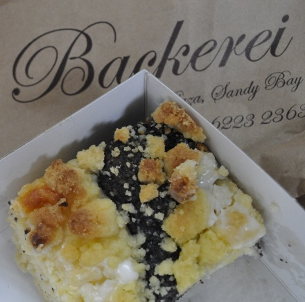 Brezel Backerei Quark Poppyseed German Cake Hobart