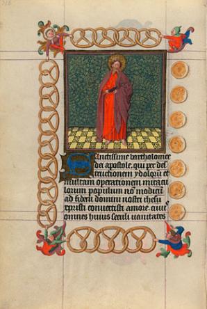 Brezel Catherine of Cleves Morgan Library Museum Pretzels Brezels