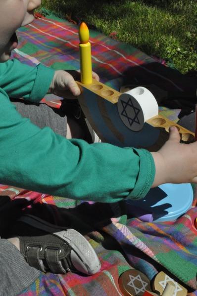 Chanukah Hanukkah Toy Children Menorah