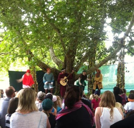Robin Hood Hobart Botanical Gardens Big Monkey Theatre