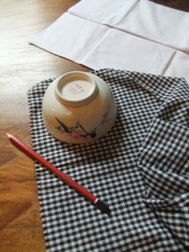 Pesach Seder Dinner Home Made Craft Yarmulke Kippot Pattern