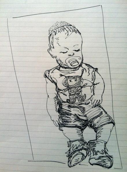 Pesach Seder Kippah Yarmulke How To Make Baby Drawing