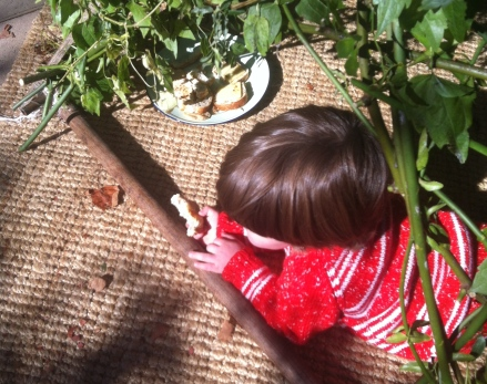 Autumn Fort Picnic Playhouse Twig Branch Tutorial