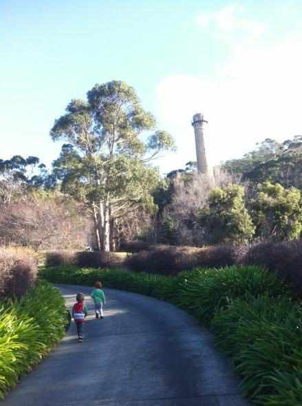 Limits Travel Family Kids Hobart Tasmania Shot Tower