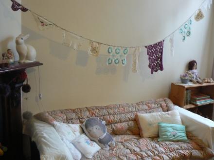 Baby Twins Bedroom Nursery Unisex Pastels Vintage Heico Bunny