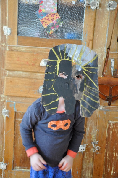 Pharaoh Mask Egyptian Ancient Craft Children Kindergarten