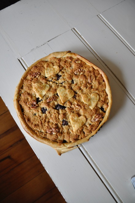 Cherry Crumble Pie Recipe Fresh Tart Whole Foods