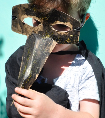 Venice Masquerade Carnival Child Activity Free Recycle Upcycle Fun Easy Mask Make
