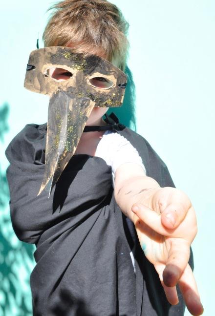 Venice Venezia Carnival Masquerade Plague Doctor Dottore